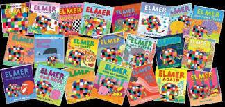 Elmer The Patchwork Elephant Story - elmer the elephant rm books