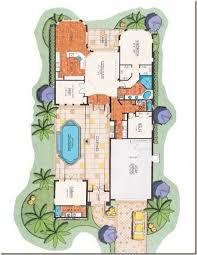 florida house plans with courtyard pool inspiring florida house plans with pool photos best inspiration