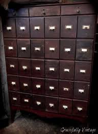 Library File Cabinet 48 Best Vintage Wood Library File Card Cabinet Images On Pinterest