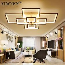 led interior lights home abajur direct selling ce ac the new rectangle acrylic led ceiling