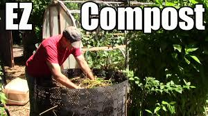 how to make ez compost from free local resources youtube