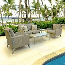 Wicker Patio Conversation Sets Lafitte 5 Piece Wicker Patio Conversation Set W Loveseat Club