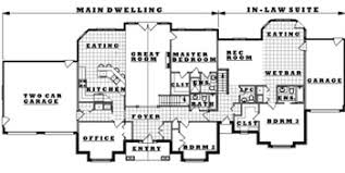 house plans with inlaw suite in suite plans rijus home design ltd