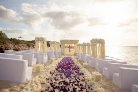 Purple Aisle Runner Wedding Flowers How To Create A Floral Aisle Runner Inside Weddings