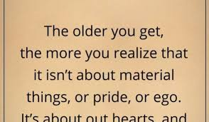 the you get the more you realize that it thoughtful quotes