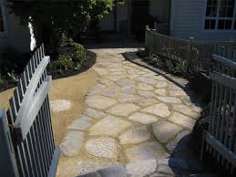 Backyard Flagstone Flagstone Walkway Ideas U0026 Pictures Landscaping Network