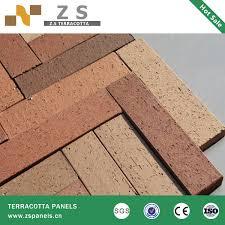 terracotta split brick tile terracotta paving tile terracotta