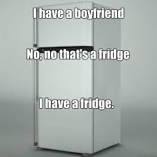 Fridge Meme - i have a boyfriend no no that s a fridge i have a fridge misc