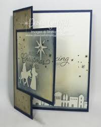night in bethlehem christmas card dawn u0027s stamping thoughts