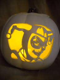 geeky pumpkin carving ideas break out the bat signal because dc halloween pumpkins are on the