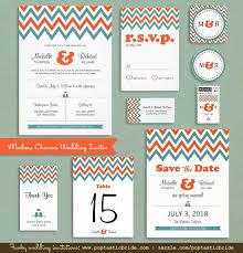 contemporary wedding invitations modern chevron wedding invitations photo cards