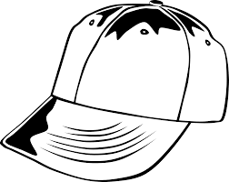 hat black and white free santa hat clipart black and white