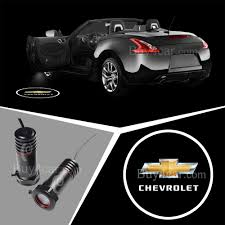 chevrolet car logo 3d laser car door lamp led ghost shadow car logo light for chevrolet