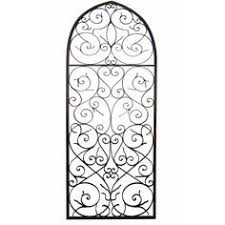 Iron Wrought Wall Decor Arch Intricate Wrought Iron Wall Decor Metal Wall Art Metal