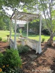 Arbor Ideas Backyard Cute Garden Pergola With Trellis Sides Great For Bushy Flowers