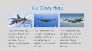 military powerpoint template slidemodel