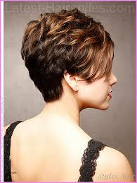short hairstyle back view images short hairstyles front and back views of short hairstyles new bob