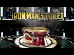 Iron Man Night Light Iron Man U0027s Toilet Captain America Civil War Illumibowl Toilet