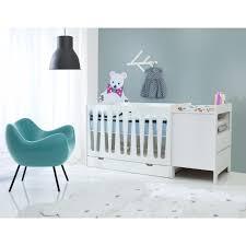 chambre bébé avec lit évolutif lit bébé moon évolutif 0 à 5 ans petitechambre fr