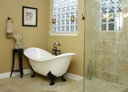 clawfoot tub bathroom traditional with clawfoot tub frameless
