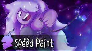 amethyst steven universe collab speed paint youtube