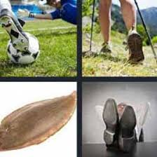 4 pics 1 word soccer player kicking the ball what u0027s word answers