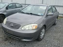 2003 used toyota corolla used 2003 toyota corolla exterior door panels frames for sale