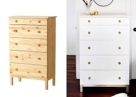 painting ikea dresser 5 incredible makeovers ikea hack painted furniture diy s the