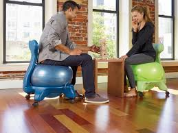 gaiam balance ball chair classic yoga ball chair with 52cm