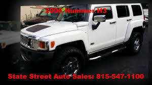 2006 hummer h3 for sale state street auto sales belvidere il