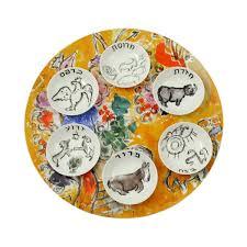 passover plate seder plate roundup elenaberlo onceuponapaper