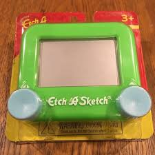 mini pocket etch a sketch drawing toy ohio art 516 etch a sketch