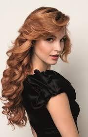 Frisuren Lange Haare Lockig by Lange Rote Locken Frisuren Styles Erdbeerlounge De
