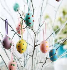 forget the christmas tree create an easter tree by decorating