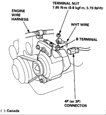 i have a 1998 honda civic i am replacing the alternator what are