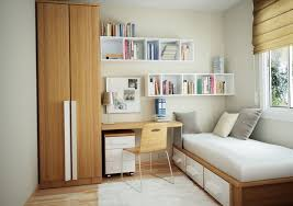 Apartment Comfortable Small Apartment Ideas With White Bench Near