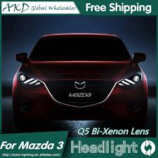 2016 mazda 3 fog light kit akd car styling for mazda 3 headlights 2014 2016 new mazda3 axela