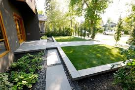 Modern Landscaping Ideas For Backyard Roxboro House Modern Landscape Calgary By Alloy Homes