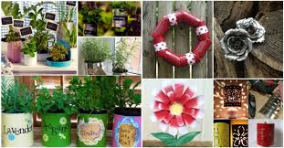 Upcycling Crafts For Adults - 50 jaw dropping ideas for upcycling tin cans into beautiful