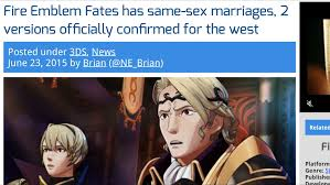 Same Sex Marriage Meme - same sex marriage confirmed fire emblem know your meme