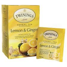 twinings herbal tea lemon naturally caffeine free 20 bag