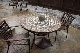Tile Top Patio Table Amazing Of Tile Patio Table Tile Top Patio Table High Dining Table