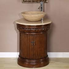 Bathroom Vanities Overstock by Silkroad Exclusive Bellevue 24 Inch Vessel Sink Bathroom Vanity