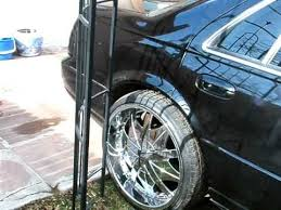 custom black light sts cadillac sts on 22s youtube