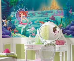 the little mermaid xl wallpaper mural 10 5 x 6 wall2wall the little mermaid xl wallpaper mural 10 5 x 6