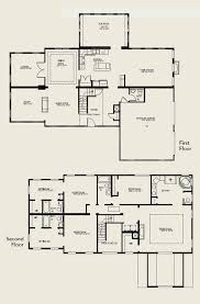 bedroom house plans 2 story two story house plans house floor