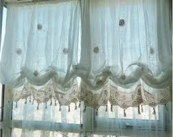 Where To Buy Window Valances Shabby Chic Curtains Etsy
