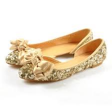wedding shoes glitter online shop plus size wedding shoes glitter gold woman