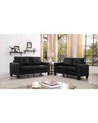 Faux Leather Living Room Set Sweet Deal On Latitude Run Payson 2 Faux Leather Living Room Set