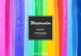 free vector watercolor paint streaks download free vector art